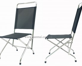 Ghế xếp INOX (FOLDING CHAIR, stainless steel)